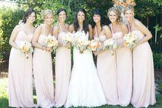 pastel bridesmaid dresses - Amsale like these #mspweddingspastelpinfest