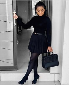 Just Me, Skater Skirt, Cute Outfits, My Style, Skirts, Black, Fashion, Beautiful Clothes, Moda