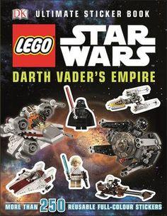 LEGO Star Wars Darth Vader's Empire Ultimate Sticker Book (Paperback)