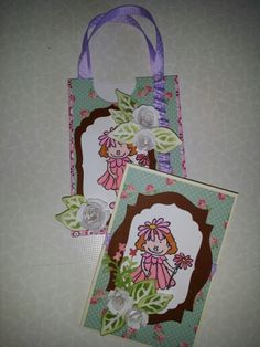 Darilna torbica z voščilnico