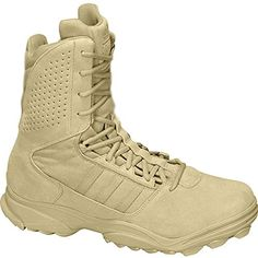 Adidas GSG 9.3.1 Military Boots UK 8.5 Sand ** More info could be found at the image url.