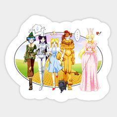 Sailor Moon / Wizard of Oz