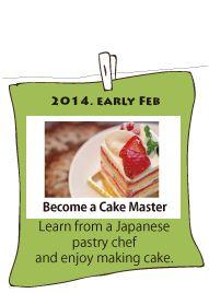 become a cake master