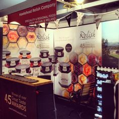 Hurrah, stand all set up at @IFEexhibition .Visit us from tomorrow at stand N1213 #ife13 #embellishwithrelish