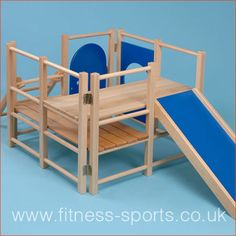 The Toddler Indoor Climbing Frame from Cost Cutters UK is designed for children under 5 years of age! Wood Playground, Kids Indoor Playground, Indoor Activities For Kids, Toddler Climbing, Indoor Climbing, Indoor Toddler Gym, Indoor Jungle Gym, Climbing Frame Diy, Design Tisch