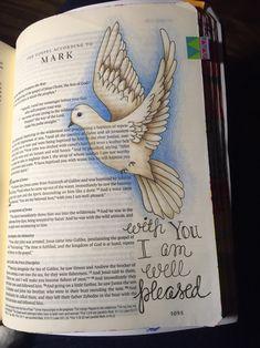 Mark 1:11 Sherrie Bronniman - Art Journaling: In My Bible