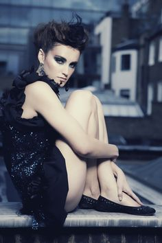 #london time #trends2014 #makeup #hair   #models roxa