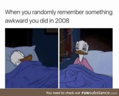 And then I can never go back to sleep