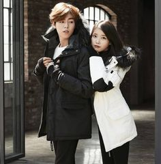Singer IU and Actor Lee Hyun Woo, known to be close friends in real life, took part in a photo shoot together. The two of them are the official models for the clothing company Unionbay, which just released a pictorial of their upcoming winter collection. IU and Lee Hyun Woo look almost like a couple...
