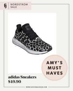 fashion jackson nordstrom anniversary sale adidas swift run leopard sneakers, athletic, athleisure, adidas sneakers, adidas sneakers on sale, womens adidas