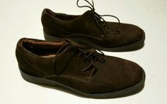 Bass Mens Suede Shoes Brown Size 9:50