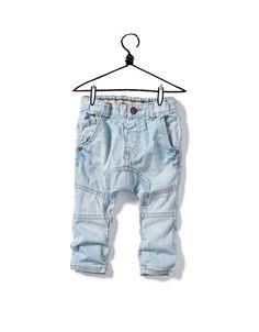 DENIM HAREM PANTS - Trousers - Baby boy (3-36 months) - Kids - ZARA