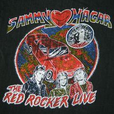 Red Rocker Live. #sammyhagar