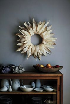 10 Corn Husks Crafts to Make This Holiday Season | Wreath | Apartment Therapy