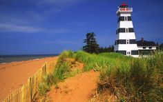 Information about traveling and vacationing on Prince Edward Island including popular attractions, average temperatures, and city information. Nova Scotia Travel, City Information, Best Tourist Destinations, Prince Edward Island, Small Island, Willis Tower, Dream Vacations, Places To Visit, Country Roads