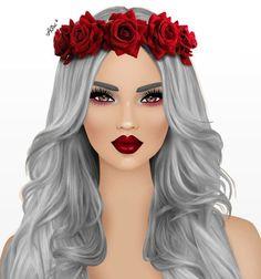 The beauty girl
