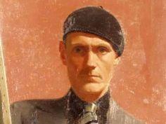 Turun taidemuseo : Viljo Hurme artists self portrait