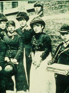 The Victorian 'Dagenham Girls' From oldbills.co.uk