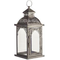 Silver Pierced Lantern - Small