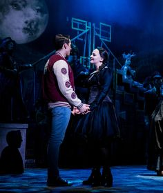 Wednesday and Lucas UK Tour (Carrie Hope Fletcher & Oliver Ormson) Theatre Costumes, Musical Theatre, Theatre Geek, National Girlfriend Day, Carrie Hope Fletcher, Adams Family, Wednesday Addams, Dream Life, Carry On