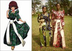 Gomesi : Ugandan Traditional Clothing