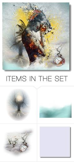 """""""Solitude"""" by kikilea ❤ liked on Polyvore featuring art"""