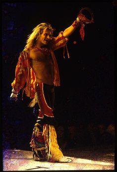 saw many Van Halen concerts!