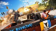 "Just Cause 3: ""Firestarter"" The first Trailer of the Game"
