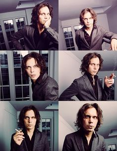 Ville Valo, I love him so very much. Honestly. I want only good things for him!