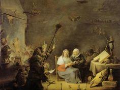 Sabbath, David Teniers (the younger).