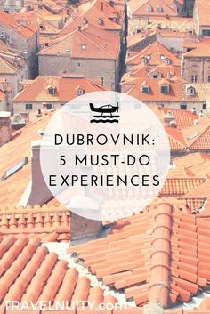 Dubrovnik is an amazingly intact walled city on the Adriatic Sea coast in the south of Croatia. Discover the best attractions and things to do in Dubrovnik. Croatia Itinerary, Croatia Travel Guide, Europe Travel Guide, Europe Destinations, Travel Guides, Holiday Destinations, Italy Travel, Visit Croatia, Beautiful Places To Visit