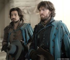 The Musketeers Aramis et Athos