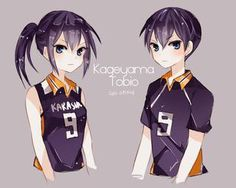 Kageyama genderbender _Haikyuu!!