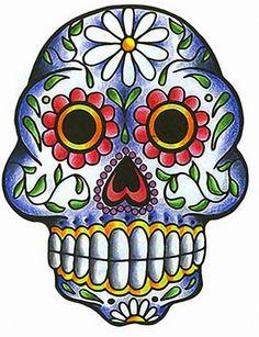 Dulces Sugar Skull Graffiti Girl Tattoo Decoración De Pared De Vinilo Sticker Decal Rockabilly