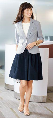 私服面接もばっちり!キチンと感のある爽やか好印象なビジネスカジュアル◎ 〜就活ファッション スタイルのアイデア コーデまとめ〜