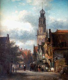 Bakenesserkerk, Haarlem (Elias Pieter van Bommel  )