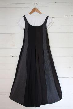 #Dark Stripe Carly Bubble Dress  Leather Skirts #2dayslook #fashion #LeatherSkirts www.2dayslook.com