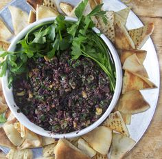 spicy-turkish-tapenade.  Would be good with chicken or as a dressing on roasted veggies or dark greens