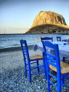 Dining in Monemvasia