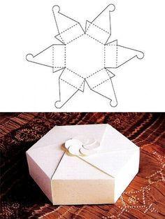 Voici quelques schémas à imprimer pour réaliser de jolies boîtes!                                                                                                                                                                                 Plus