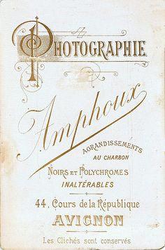 AMPHOUX - Avignon