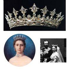 Princess Alice daughter of Queen Victoria of Britain, Grand Duchess Alice of Hesse - Hesse Tiara