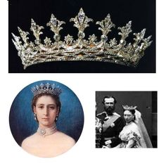 Princess Alice daughter of Queen Victoria of Britain,  Grand Duchess Alice of Hesse - Hesse Tiara