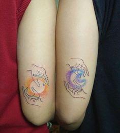 21 Unique Couple Tattoos
