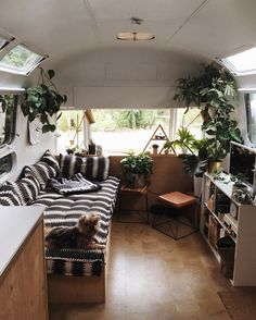 a boy, a girl & a pair of little dogs living in and renovating a vintage airstream. @brettbashaw & @natashalawyer