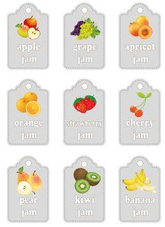 Etichette per marmellate, stampale | http://www.greenmagazine.it/etichette-da-stampare-per-marmellate/