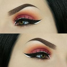 WEBSTA @ swayzemorgan - Anyone else as excited about fall makeup as I am? Warm tones will always be my favorites to wear and these shadows are perfect for the changing seasons, especially paired with the this simple graphic liner!Product details:BROWS: @anastasiabeverlyhills dipbrow pomade in Ebony, topped with @benefitcosmetics 3D brow tones number 4SHADOWS: All shadows on this look are by @makeupgeekcosmetics Brow bone is Artemis, crease is a blend of Peach Smoothie as the transitio...