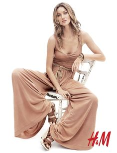 """Gisele Bundchen influences the H """"all in one"""" style for the Spring/Summer 2011 Collection - image source: www.fashioncraz.com"""