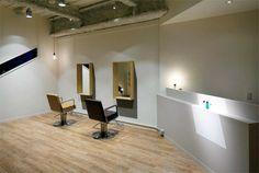 美容室,美容院,内装,施工例