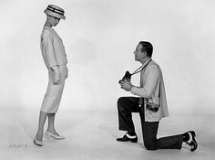 Audrey Hepburn and Fred Astaire in Funny Face', 1957.